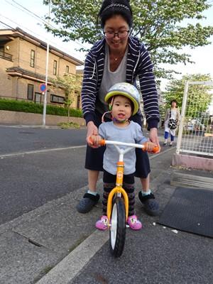 たえちゃん自転車