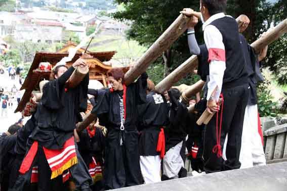 川田八幡神社の秋祭り-04♪