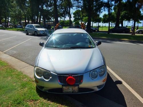 ハワイ 車 クリスマス トナカイ
