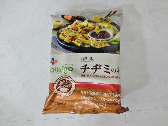 コストコ レポ ブログ 新商品 CJ チヂミの素 558円