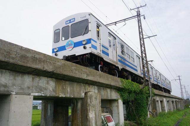 弘南鉄道 弘南線コンクリート橋6