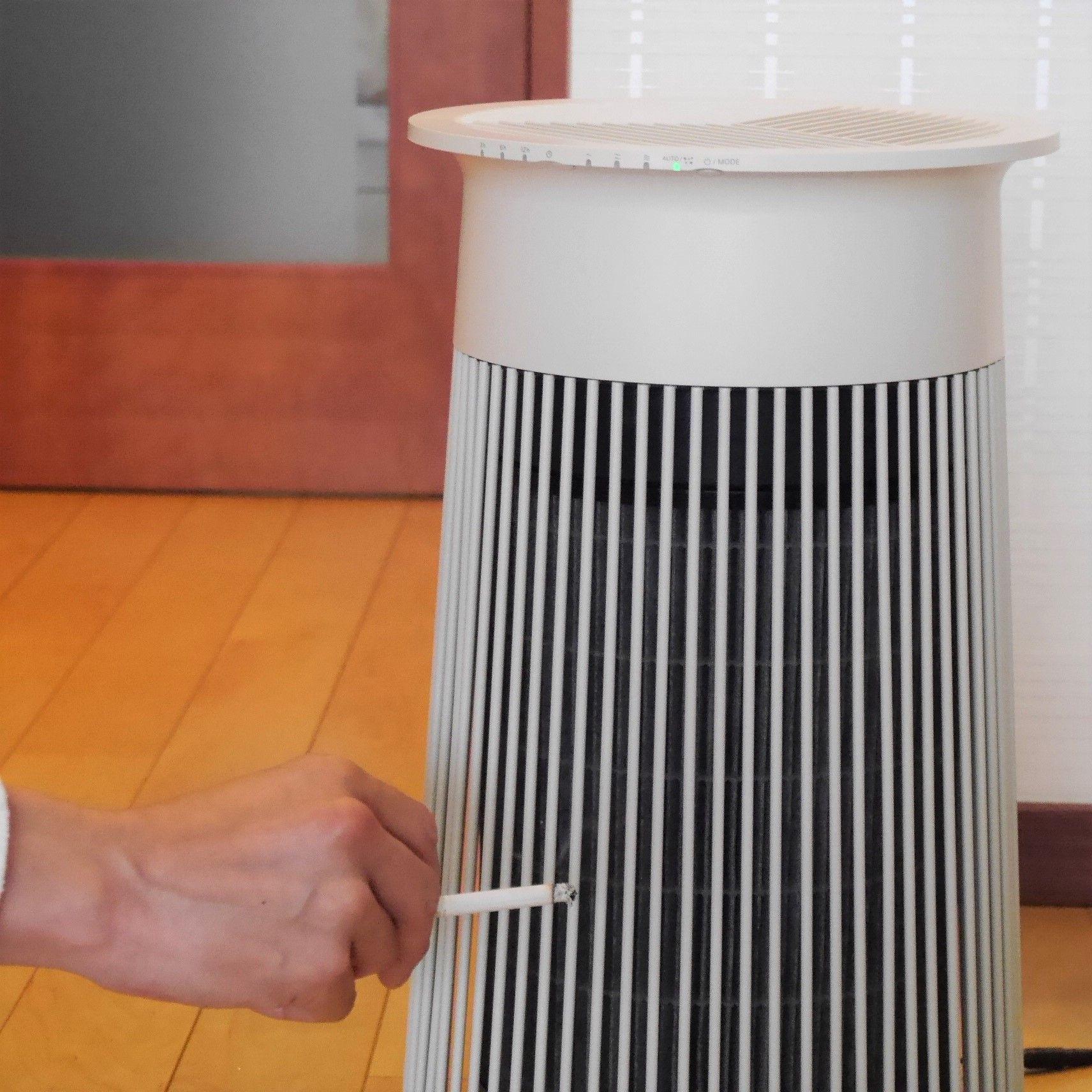空気清浄機C030_タバコ