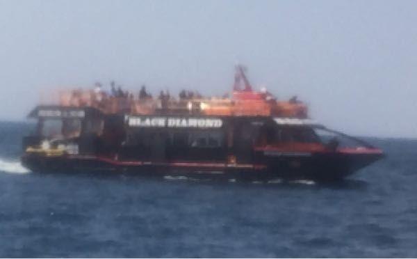 軍艦島端島上陸クルーズ・クルージング・ツアー・ブラックダイヤモンド