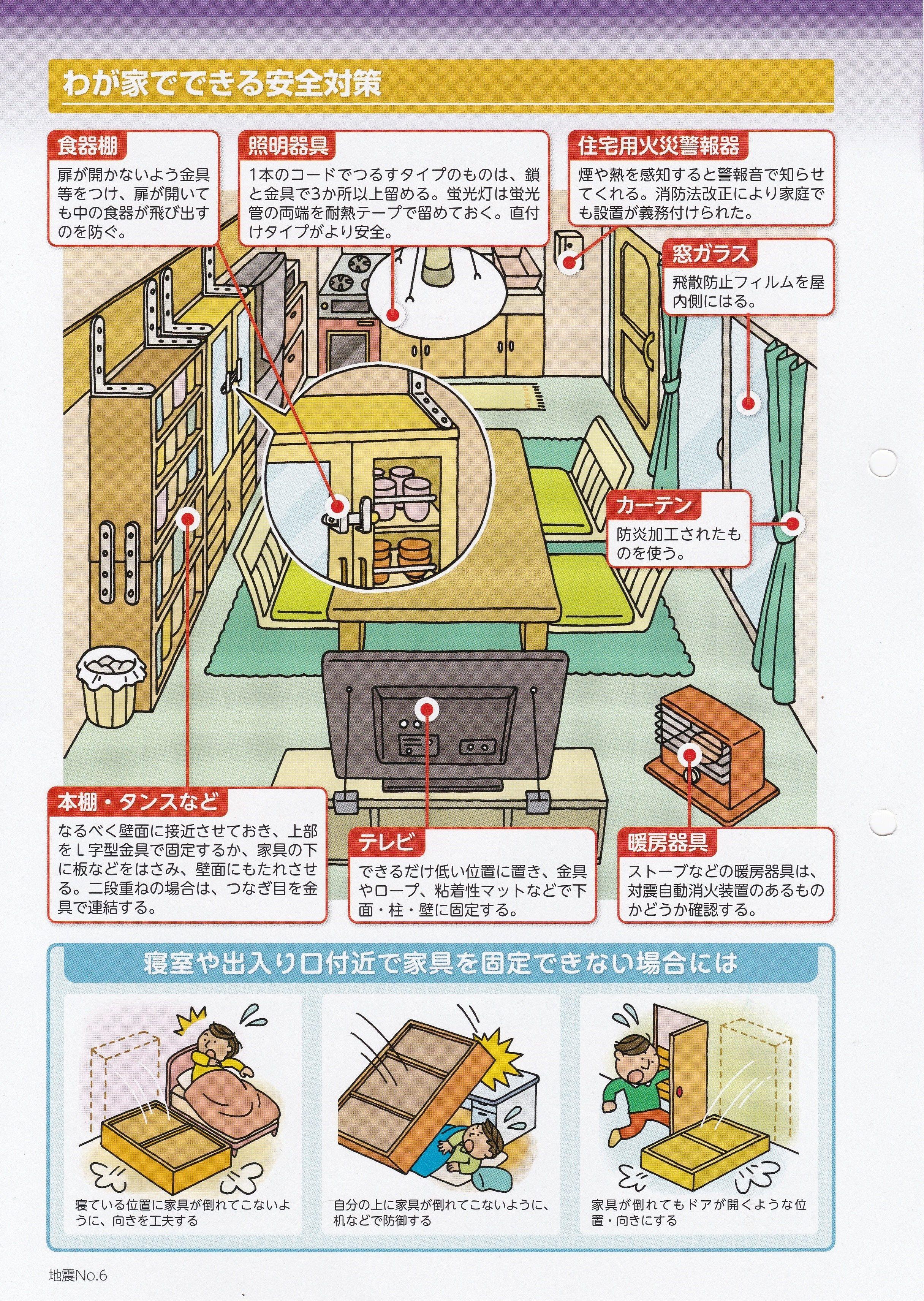 家、家の中の安全対策とは?」これからが正念場です!NO.5☆彡   学び ...