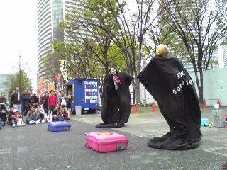 ヨコハマ大道芸2012・ファニーボーンズ3
