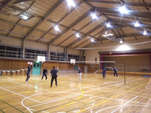 バレーボール練習