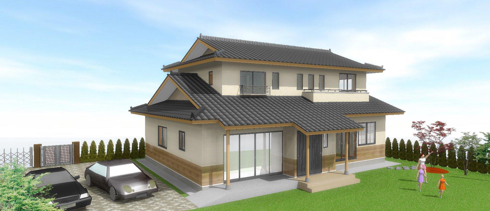 石川町沢田 E邸