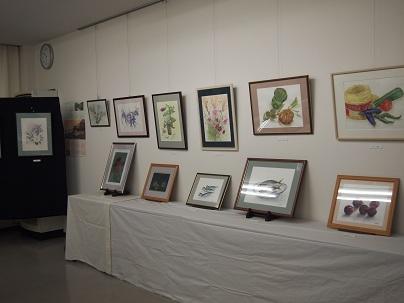 2012年10月 水彩画。陶芸展(2).jpg