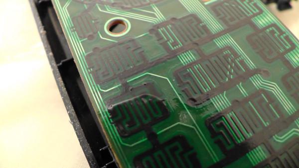 リモコン基板 ボタン 修理
