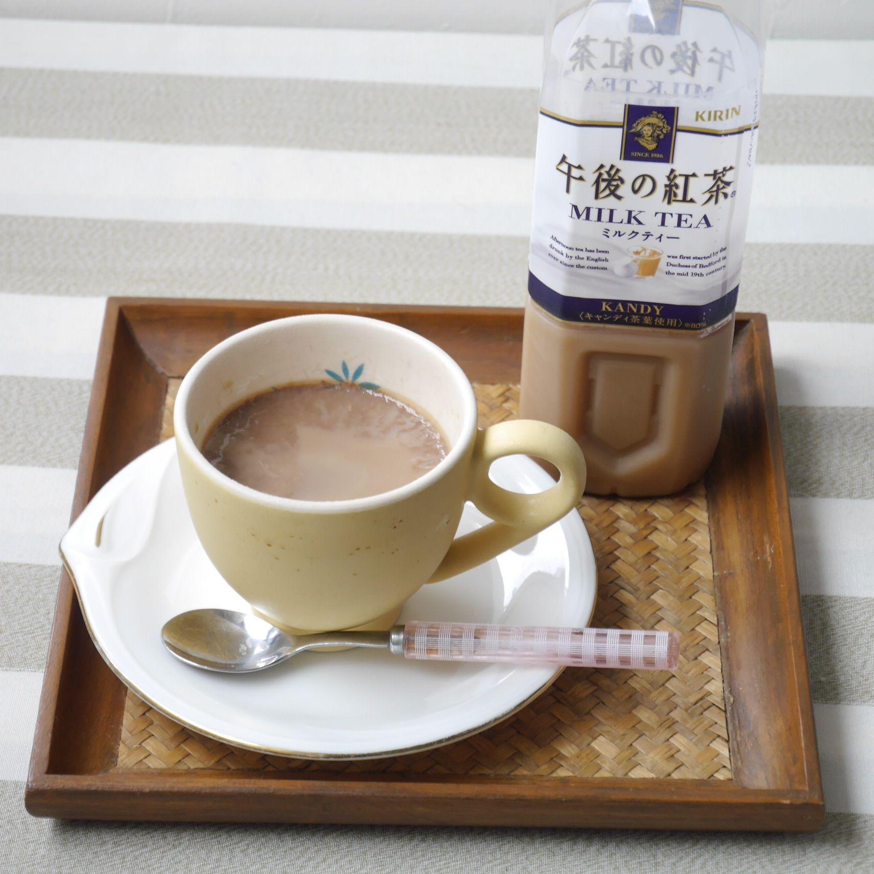 プリン_午後の紅茶