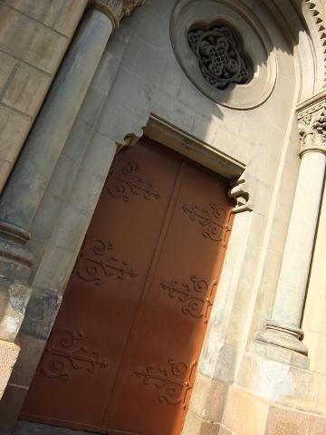 聖マリア教会 ステンドグラス ホーチミン ベトナム