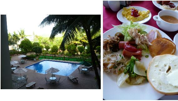 ホテルの庭と朝食.png