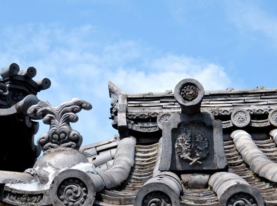鞆の浦 寺 神 社 瓦