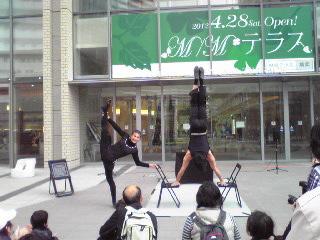 ヨコハマ大道芸2012・DuoAbimanola