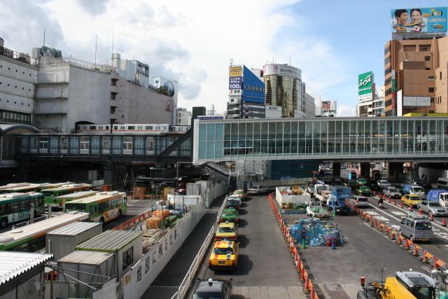 変貌する 渋谷駅と 銀座線