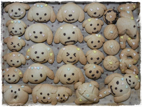 リッキー&ノエル型クッキー