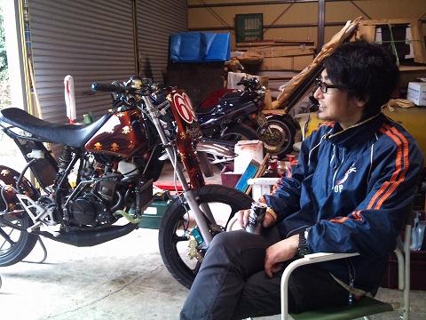 2013.04 3MAエンジン修理&CRM化粧直し 087(ご満悦ダポさん)