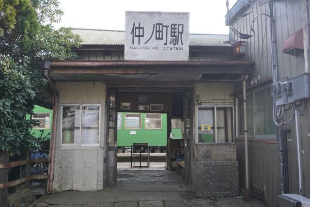 銚子電鉄仲ノ町駅&車庫