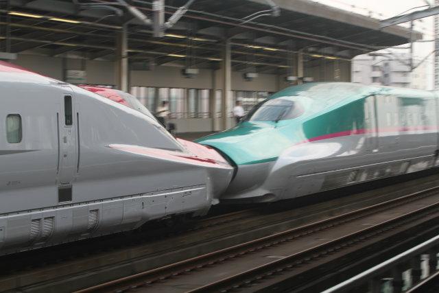 東北新幹線 E5系+E6系宇都宮 通過3
