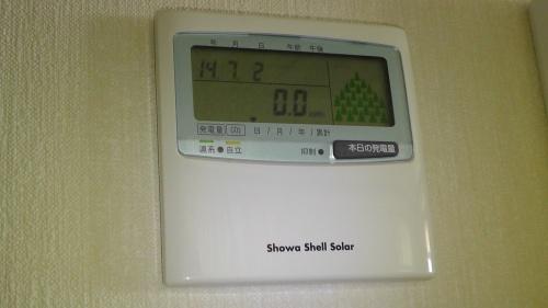 表示ユニットSDP0201Cの発電量表示