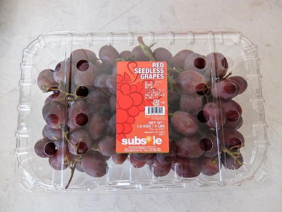 コストコ レポ ブログ レッドシードレスグレープ 1,180円 新商品 果物 ぶどう