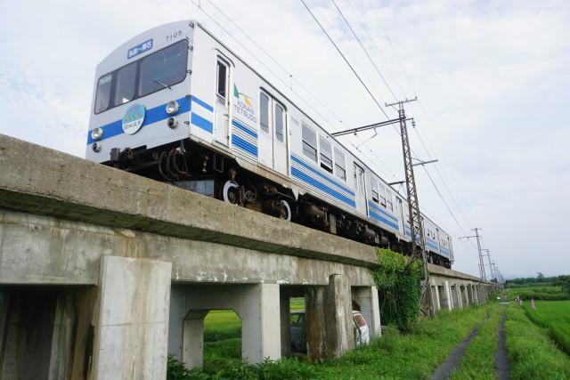 弘南鉄道 弘南線コンクリート橋
