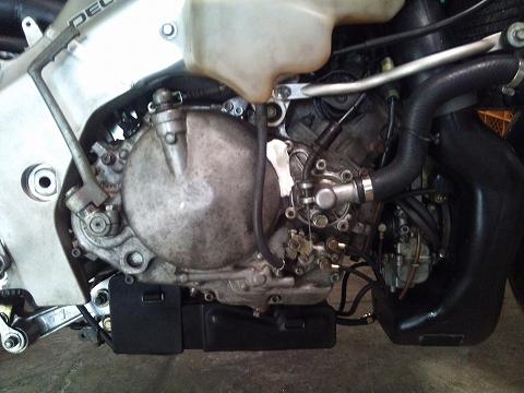 2013.04 3MAエンジン修理&CRM化粧直し 037(スペアE、水漏れ)