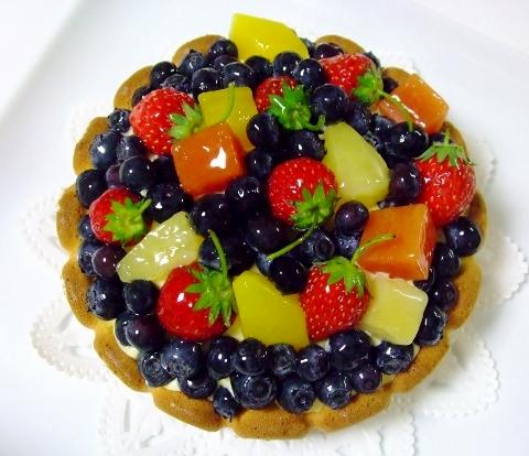 ぐりとぐらのふわふわカステラケーキ フルーツ