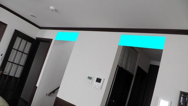 防煙垂れ壁を設置する位置
