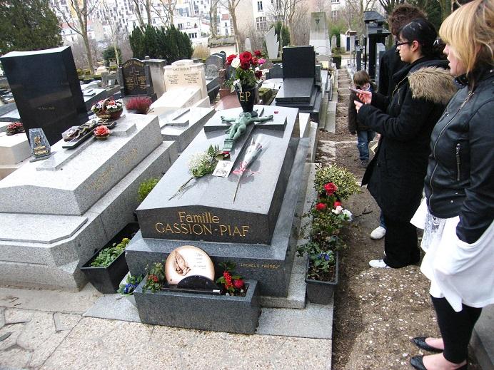 エディットピアフのお墓