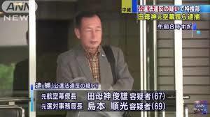 田茂神 逮捕