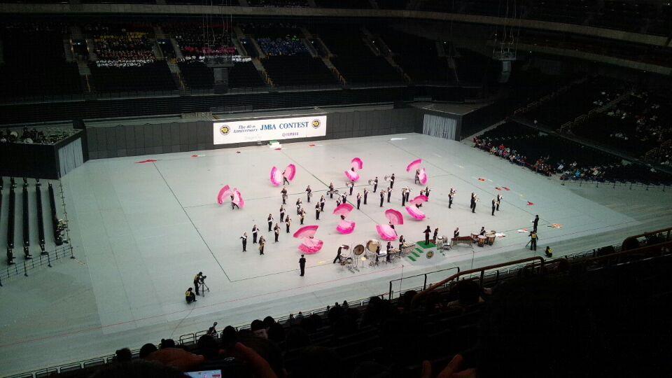 1215マーチングバンド全国大会本番