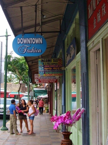 ダウンタウン オアフ島 ハワイ
