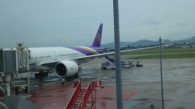 タイ航空 色が素敵