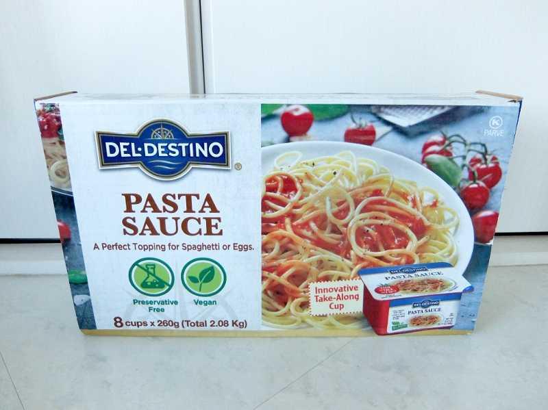 コストコで買った商品のレポ 新商品 デルディスティーノ パスタソース 円