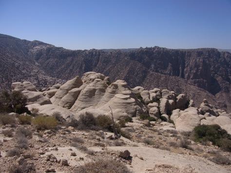 キノコみたいな岩がいっぱい
