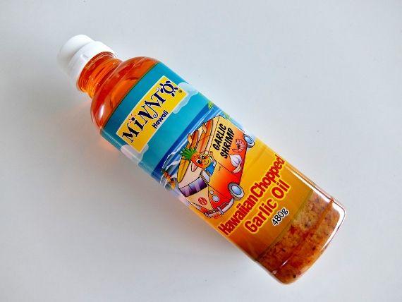 コストコ ブログ ハワイアン チョップド ガーリックオイル 899円 MINATO Hawaiian Chopped Garlic Oil シュリンプ