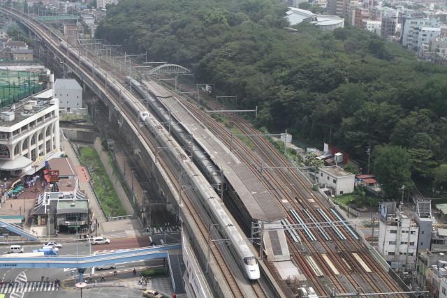 新幹線 同士の並び 他3