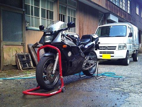 2012.07.14~16 レジェツー 026(帰宅洗車完了♪)
