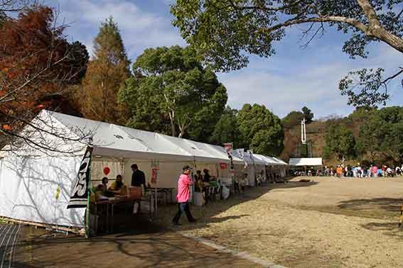 神山森林公園の「紅葉祭り」-4♪