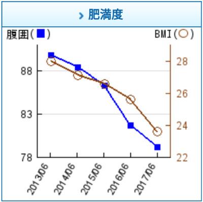 肥満度 腹囲 BMI