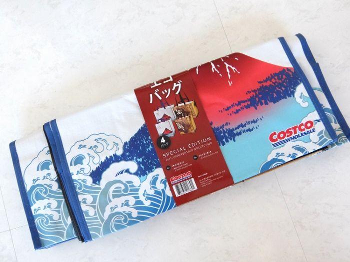 コストコ  エコバッグ JP 20周年 ショッピングバッグ 風神雷神ポ