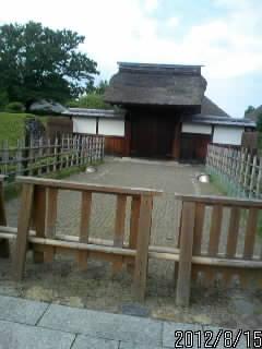 足利学校の裏門2