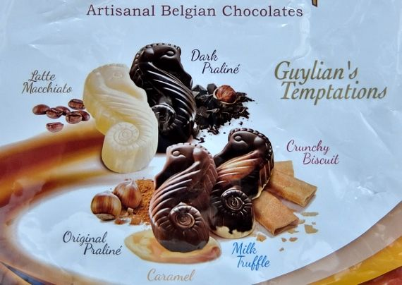 コストコ チョコレート ギリアンテンプテーション 1,178円也 ベルギー Guylian Temptations