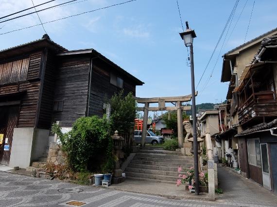 鞆の浦 寺 神 社 小烏神社