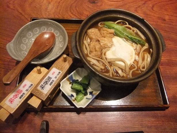 紗羅餐ミッドランドスクエア店@名古屋の蕎麦ほうとう味噌煮込み1