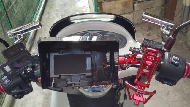 PCX レーダー探知機 防水 Bluetooth JF28 後期型 取り付け
