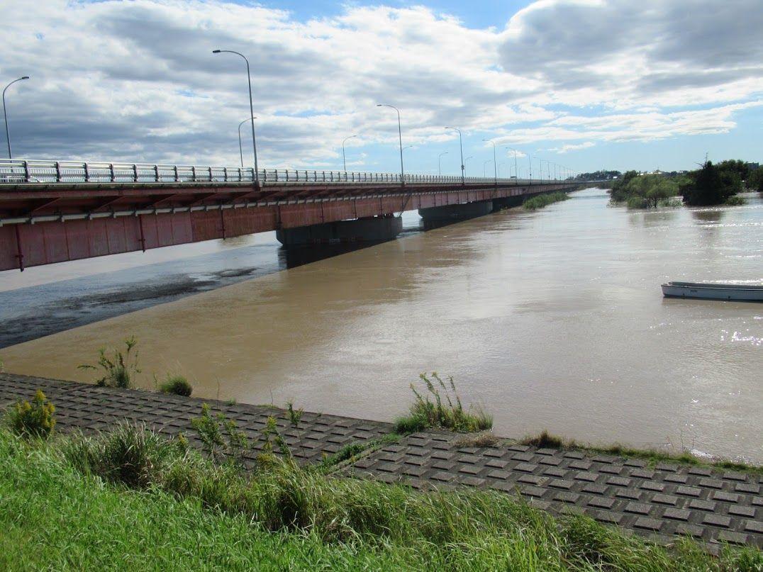 氾濫 水位 利根川 危険