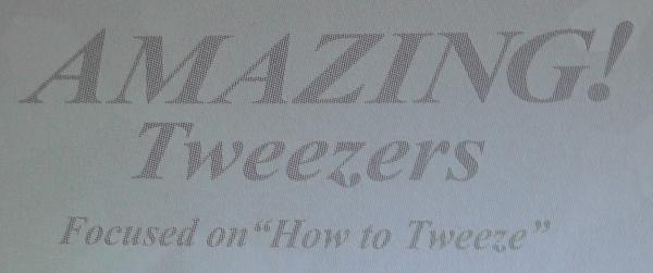 GREEN BELL AMAZING! Tweezers  Focused on How to Tweeze