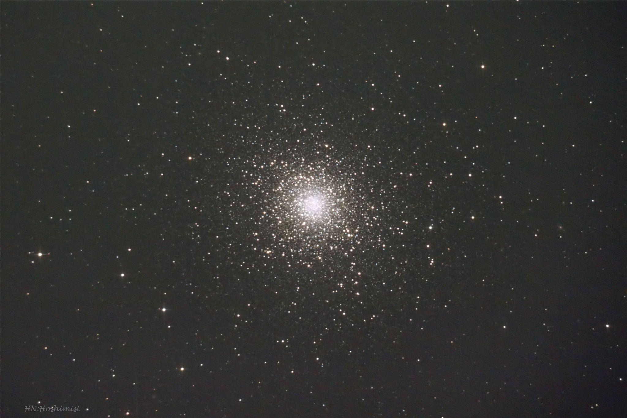 M5 へび座(頭) の球状星団   ホ...